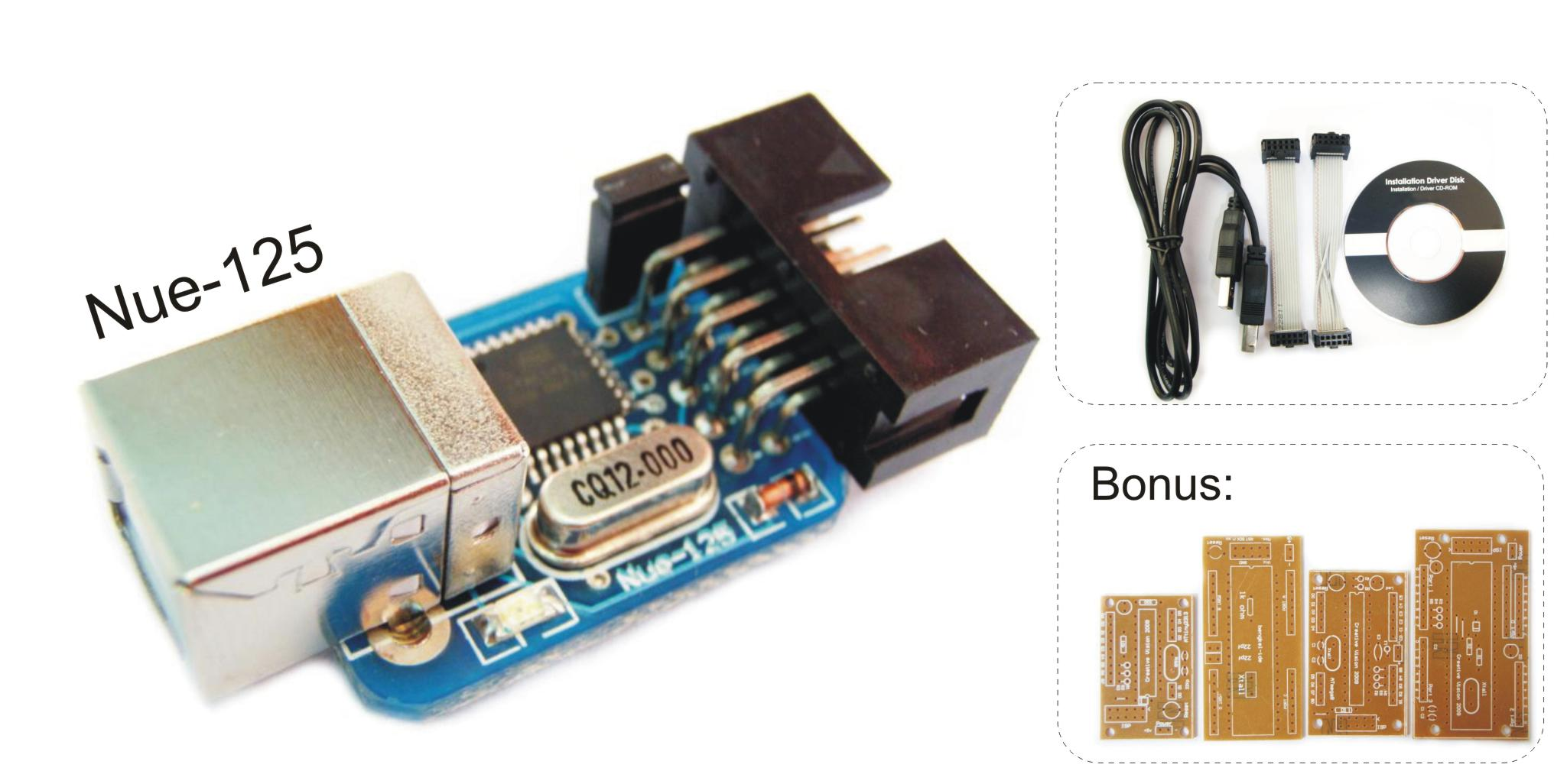 This device will help you in programming AVR microcontroler as easy as
